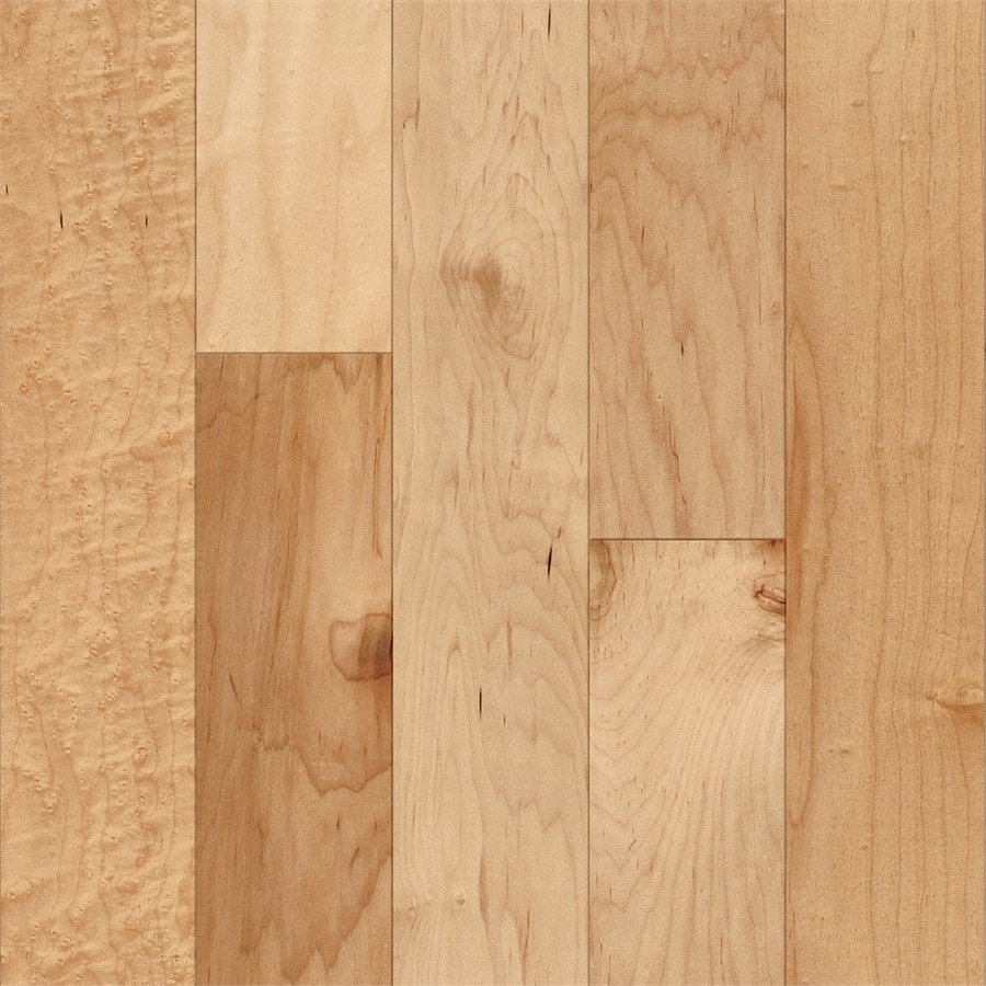 Style Selections 5in Country Natural Maple Engineered