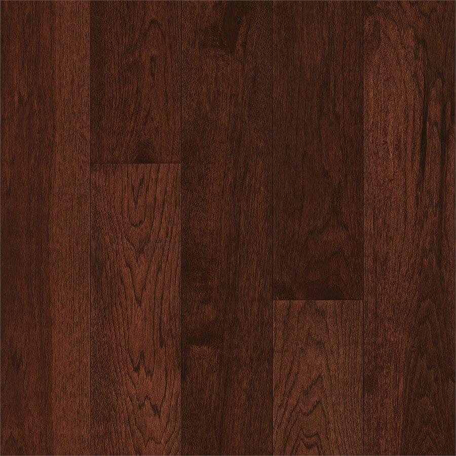Shop Bruce Hickory Hardwood Flooring Sample Amber Earth at Lowescom