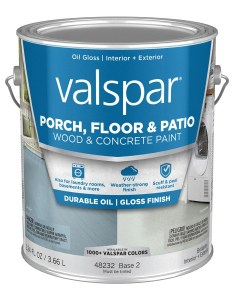Valspar base tintable gloss interior exterior porch and floor paint actual net contents also  at lowes rh