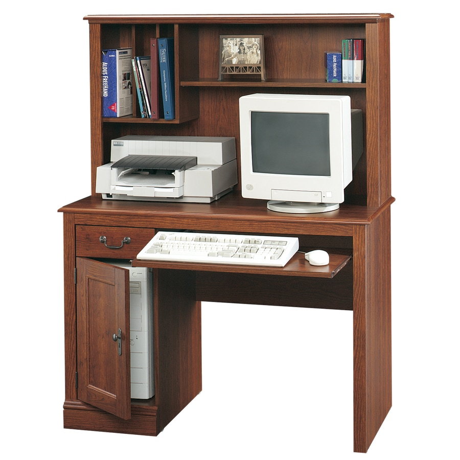 Sauder Camden County Traditional Planked Cherry Computer