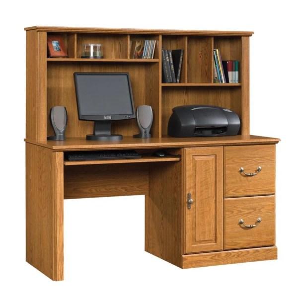 Sauder Orchard Hills Carolina Oak Computer Desk