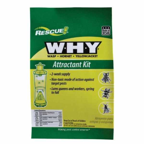 Rescue Wasp Hornet & Yellow Jacket Attractant Kit