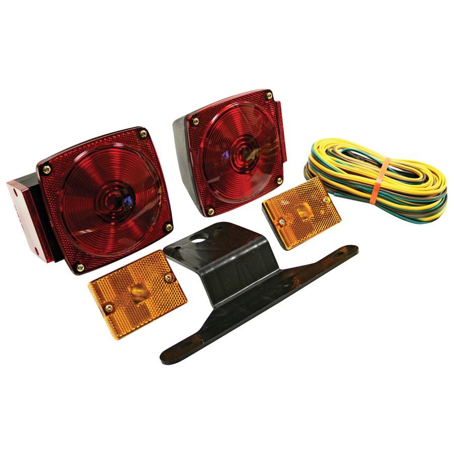 hight resolution of reese standard trailer light kit
