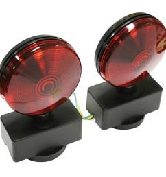 reese magnetic towing light kit [ 900 x 900 Pixel ]