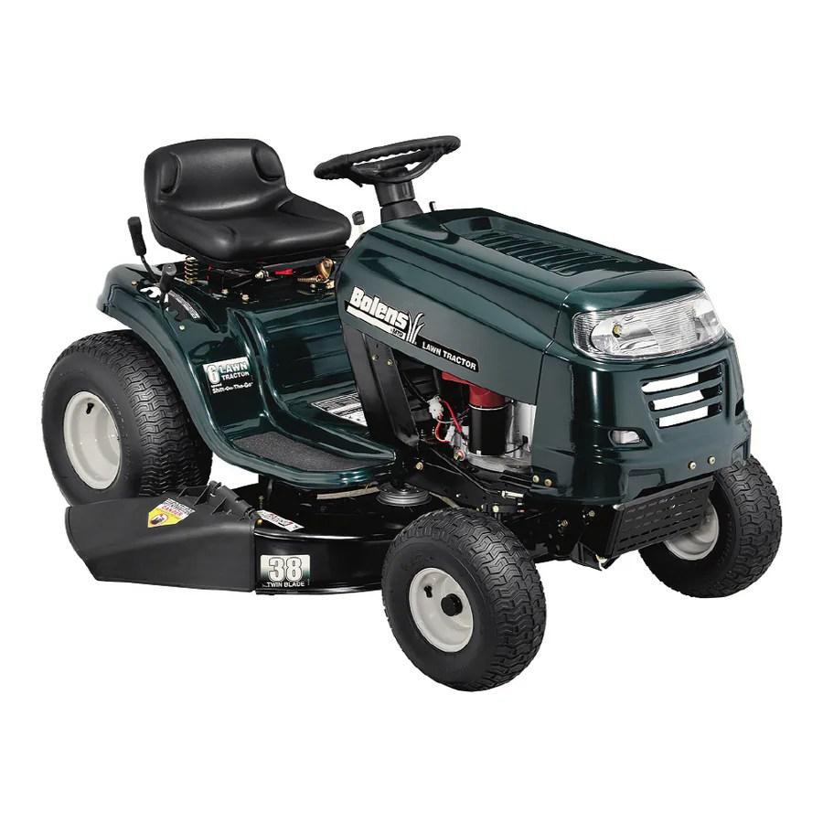 medium resolution of bolens 15 5 hp manual 38 cut lawn tractor