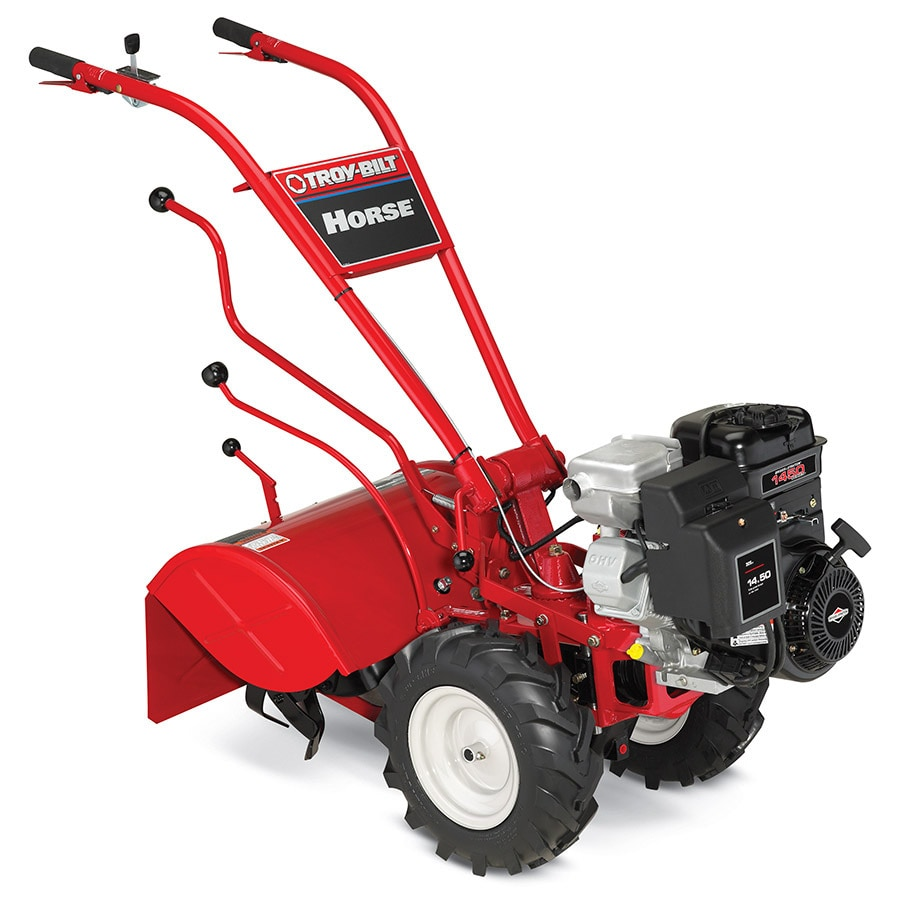 hight resolution of troy bilt horse 305cc 20 in rear tine tiller with briggs stratton engine carb