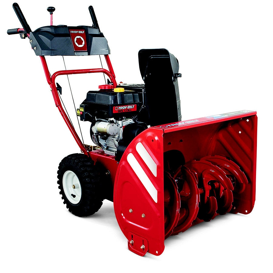 hight resolution of troy bilt storm 2410 24 in two stage gas snow blower self