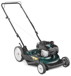 bolens 140 cc 21 in push gas lawn mower with briggs stratton engine [ 900 x 900 Pixel ]