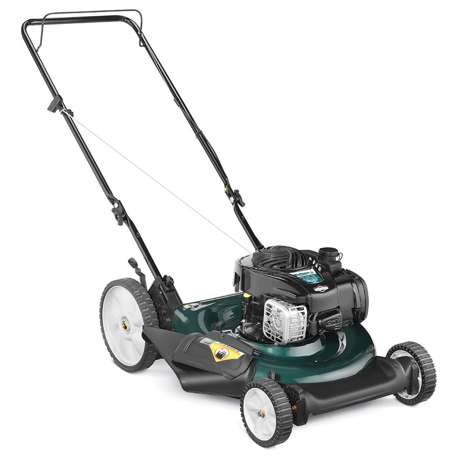 medium resolution of bolens 140 cc 21 in push gas lawn mower with briggs stratton engine