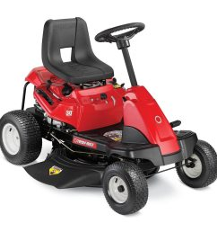 troy bilt tb30r 10 5 hp manual gear 30 in riding lawn mower [ 900 x 900 Pixel ]