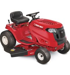 troy bilt pony ca 15 5 hp manual gear 42 in riding lawn mower with mulching capability kit sold separately carb [ 900 x 900 Pixel ]