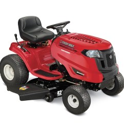 troy bilt bronco 17 hp automatic 42 in riding lawn mower with lowe s riding mower wiring diagram [ 900 x 900 Pixel ]