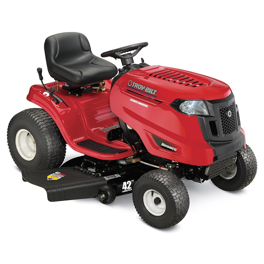 medium resolution of troy bilt bronco 17 hp automatic 42 in riding lawn mower with lowe s riding mower wiring diagram