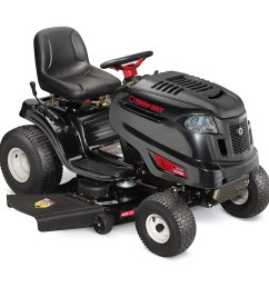 troy bilt xp horse xp 20 hp hydrostatic 46 in riding lawn mower [ 900 x 900 Pixel ]