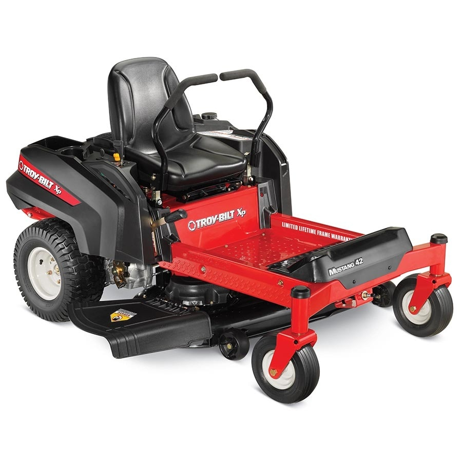 medium resolution of troy bilt xp mustang 42 xp 22 hp v twin dual hydrostatic 42