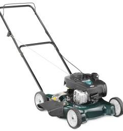 bolens 125 cc 20 in gas push lawn mower with briggs stratton engine [ 900 x 900 Pixel ]