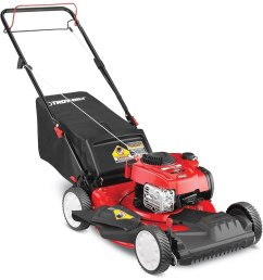 troy bilt tb200 150 cc 21 in self propelled gas lawn mower [ 900 x 900 Pixel ]