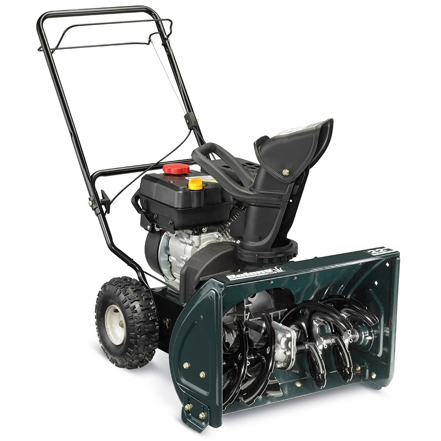 hight resolution of bolens 22 in two stage self propelled gas snow blower