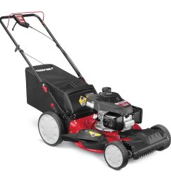 troy bilt tb240 160 cc 21 in self propelled gas lawn mower with honda engine [ 900 x 900 Pixel ]
