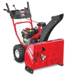 troy bilt storm 2660 26 in two stage self propelled gas snow blower [ 900 x 900 Pixel ]