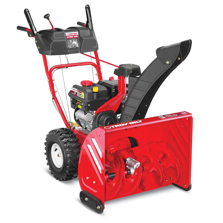 medium resolution of troy bilt storm 2660 26 in two stage self propelled gas snow blower