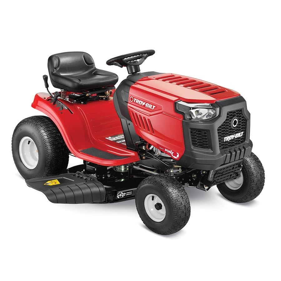 hight resolution of troy bilt pony 17 5 hp manual gear 42 in riding lawn mower