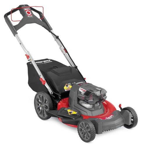 small resolution of troy bilt tb510 40 volt brushless lithium ion 21 in cordless electric lawn