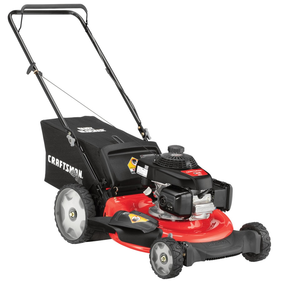 medium resolution of craftsman m140 160 cc 21 in gas push lawn mower with honda engine