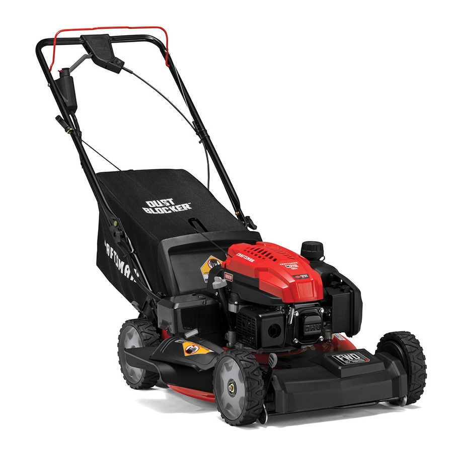 Craftsman M270 159 Cc 21 In Self Propelled Gas Push Lawn Mower Craftsman In The Gas Push Lawn Mowers Department At Lowes Com