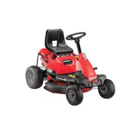 craftsman r140 10 5 hp hydrostatic 30 in riding lawn mower with mulching capability included  [ 900 x 900 Pixel ]