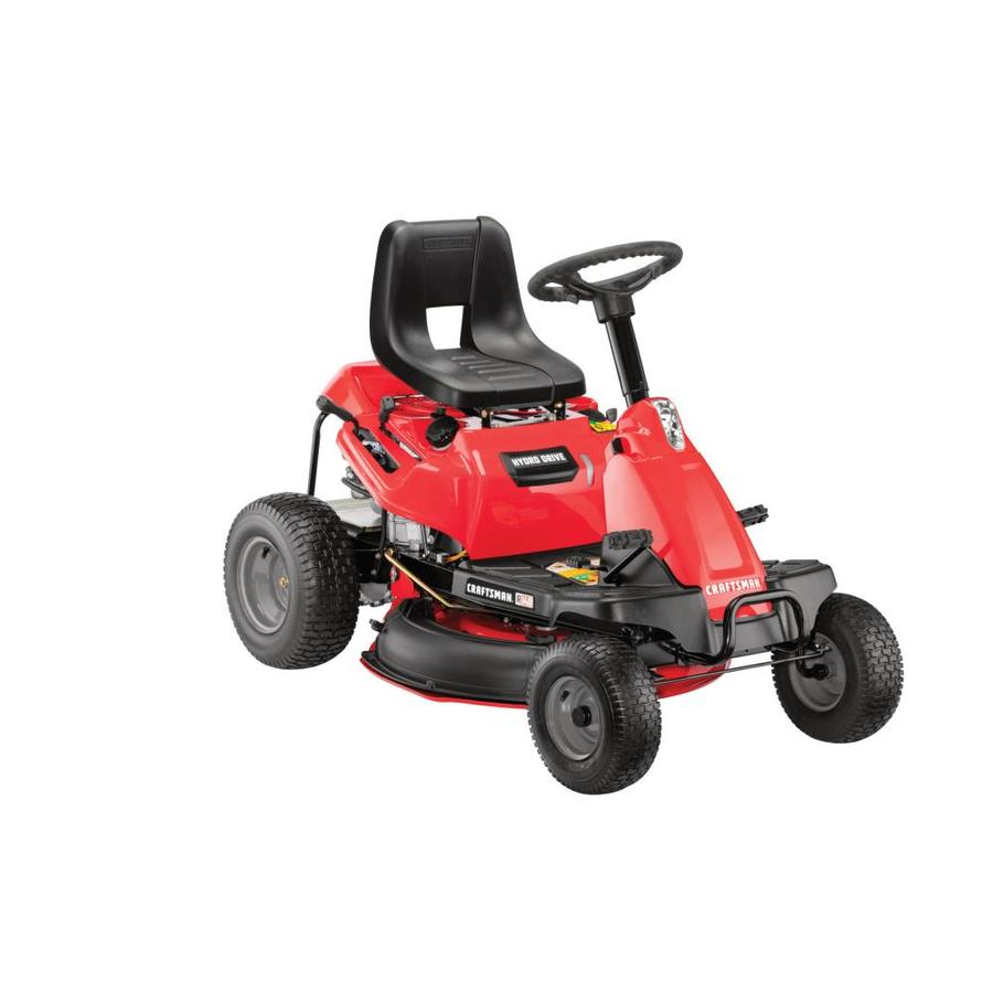 medium resolution of craftsman r140 10 5 hp hydrostatic 30 in riding lawn mower with mulching capability included