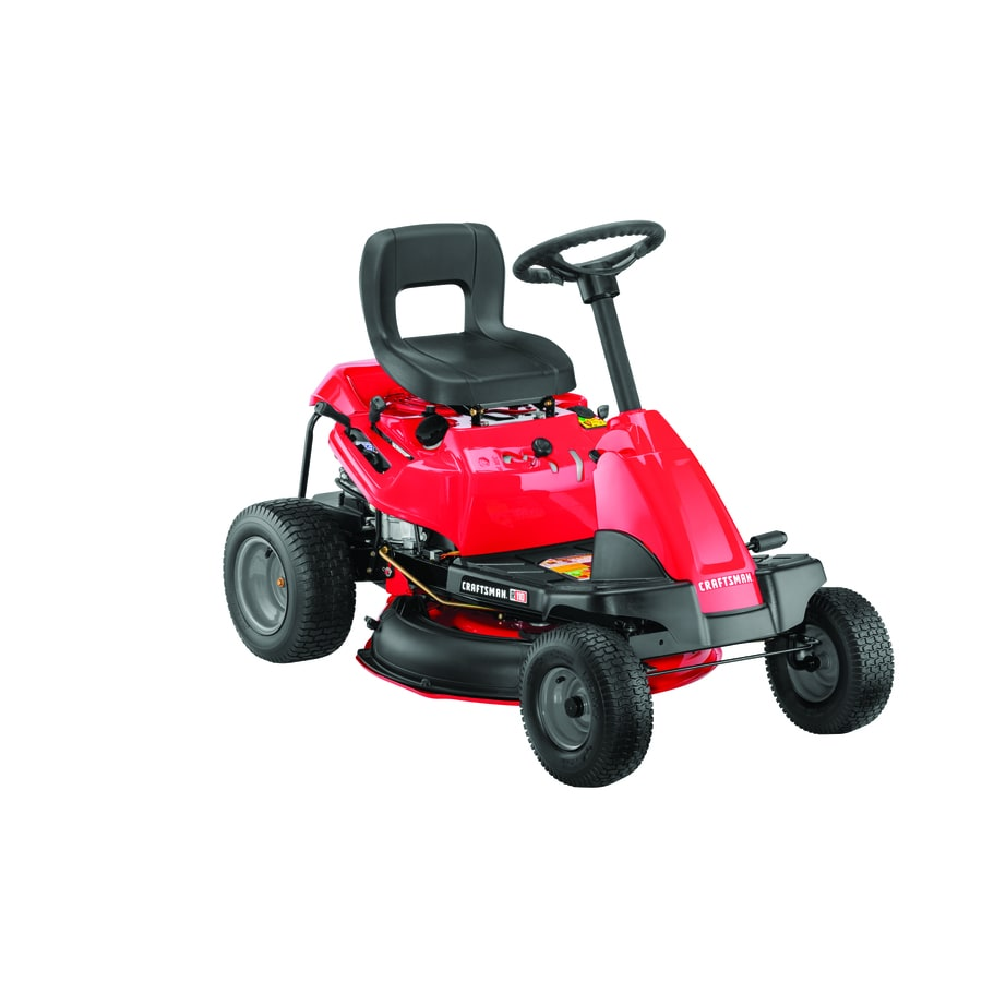 medium resolution of craftsman r110 10 5 hp manual gear 30 in riding lawn mower with mulching capability included