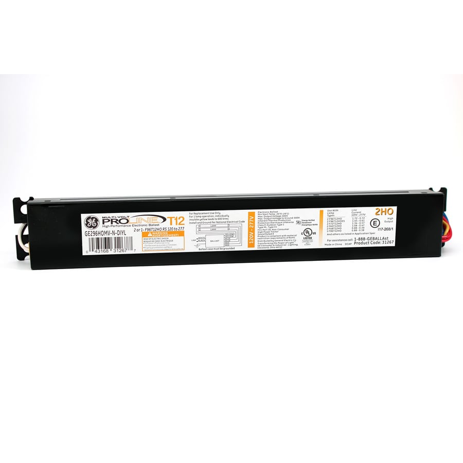 medium resolution of lighting ballasts industrial electrical ge ballast f96t12ho electronic g e