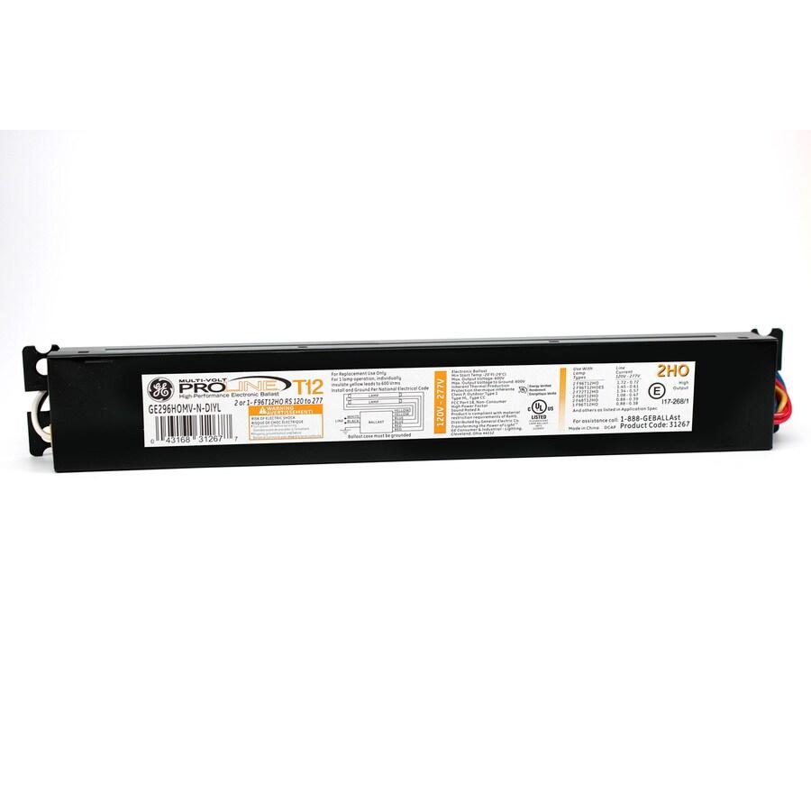 medium resolution of ge 2 bulb commercial electronic fluorescent light ballast
