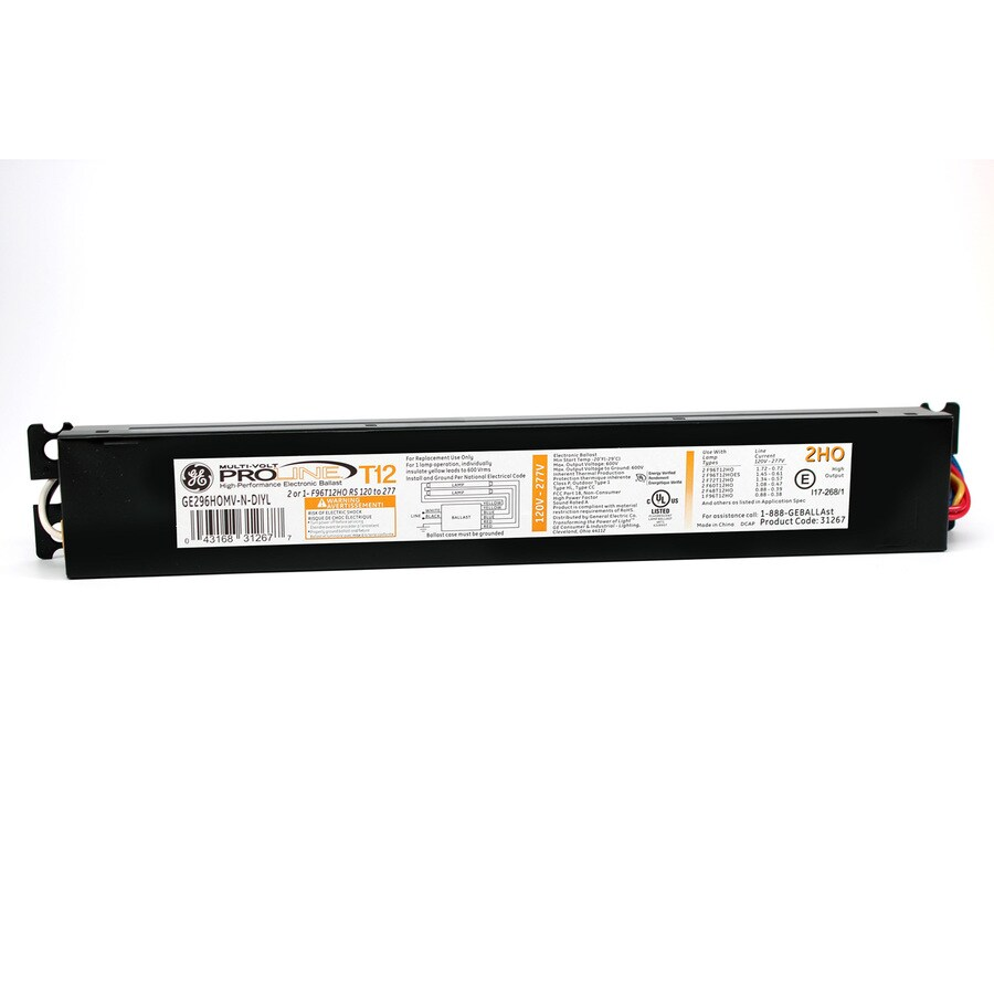 hight resolution of ge 2 bulb commercial electronic fluorescent light ballast