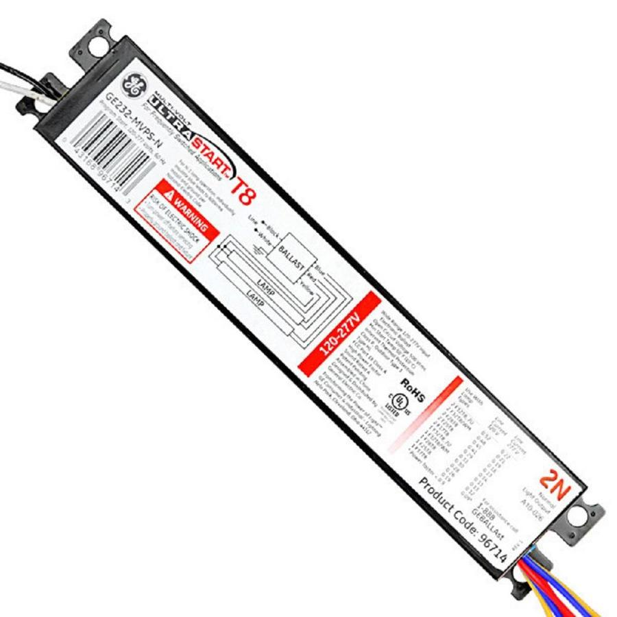 GE UltraStart 2-Bulb Residential/Commercial Electronic