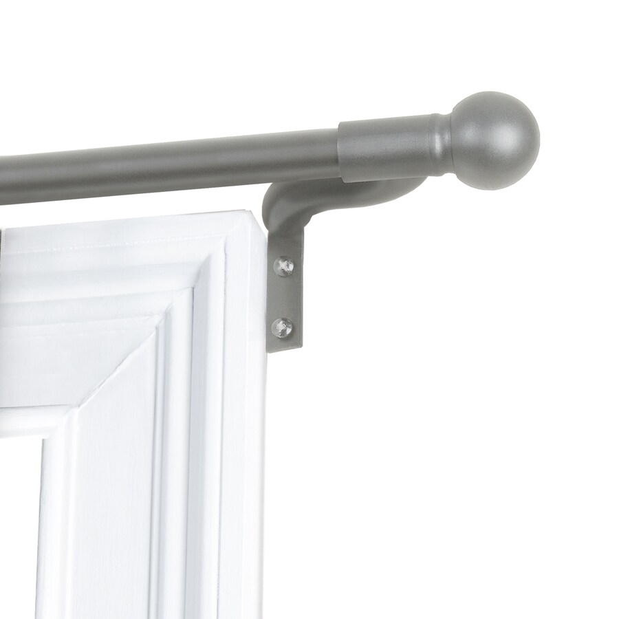 smart curtain rods hardware at lowes com