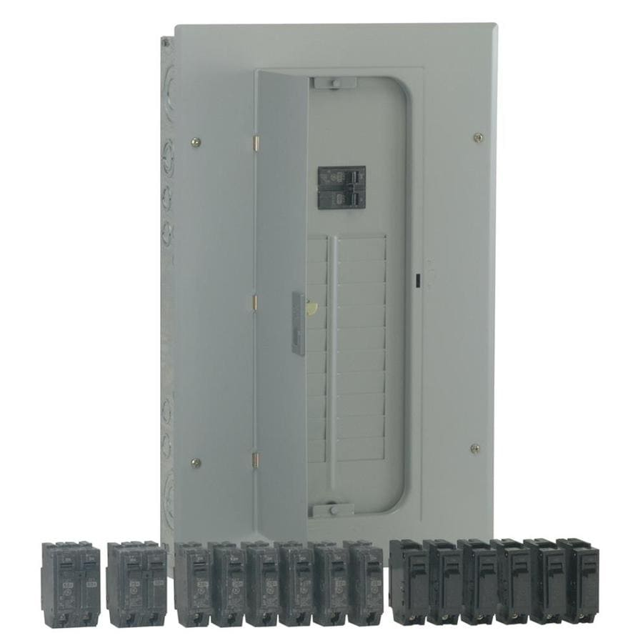 Panel With Main Breaker Box Wiring Diagram On Fuse Box In Mobile Home