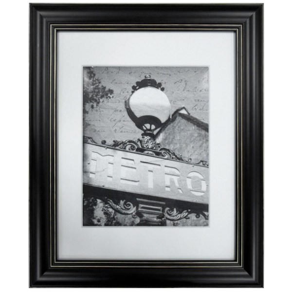Black Frame Common 11-in X 14-in; Actual 14.25-in 17.25