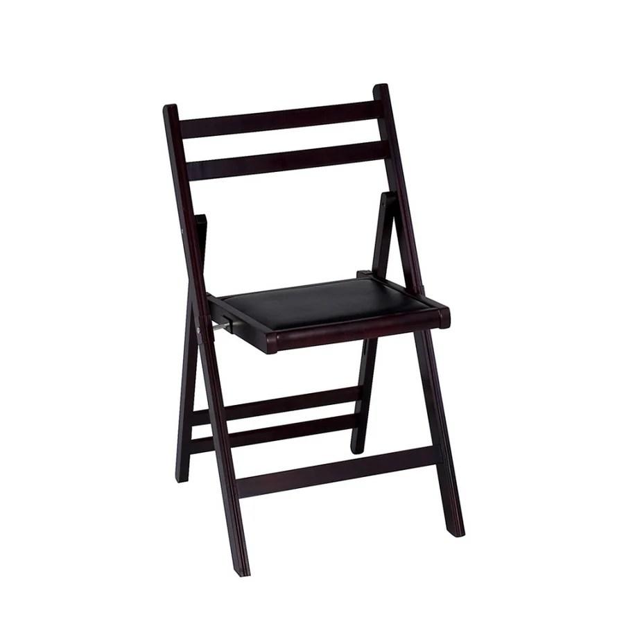 Cosco Wood Slat Folding Chair at Lowescom