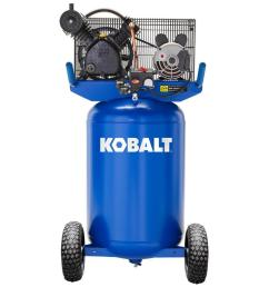 kobalt kobalt 30 gallon portable electric vertical air compressor [ 900 x 900 Pixel ]