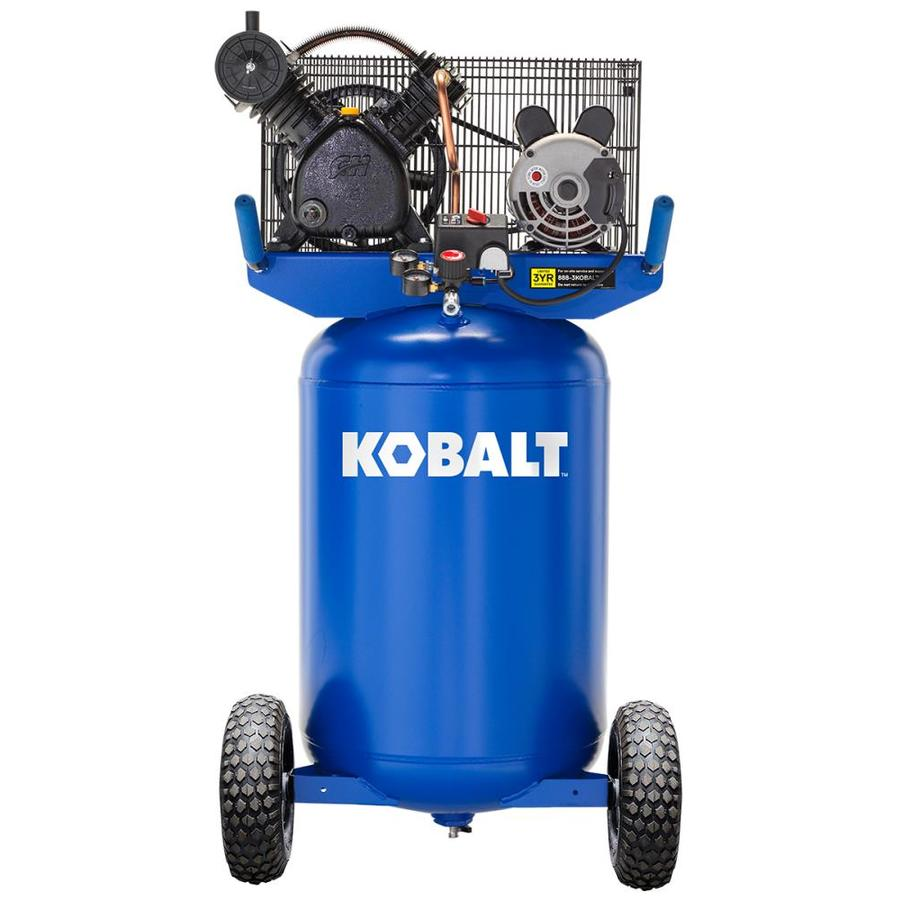 medium resolution of kobalt kobalt 30 gallon portable electric vertical air compressor