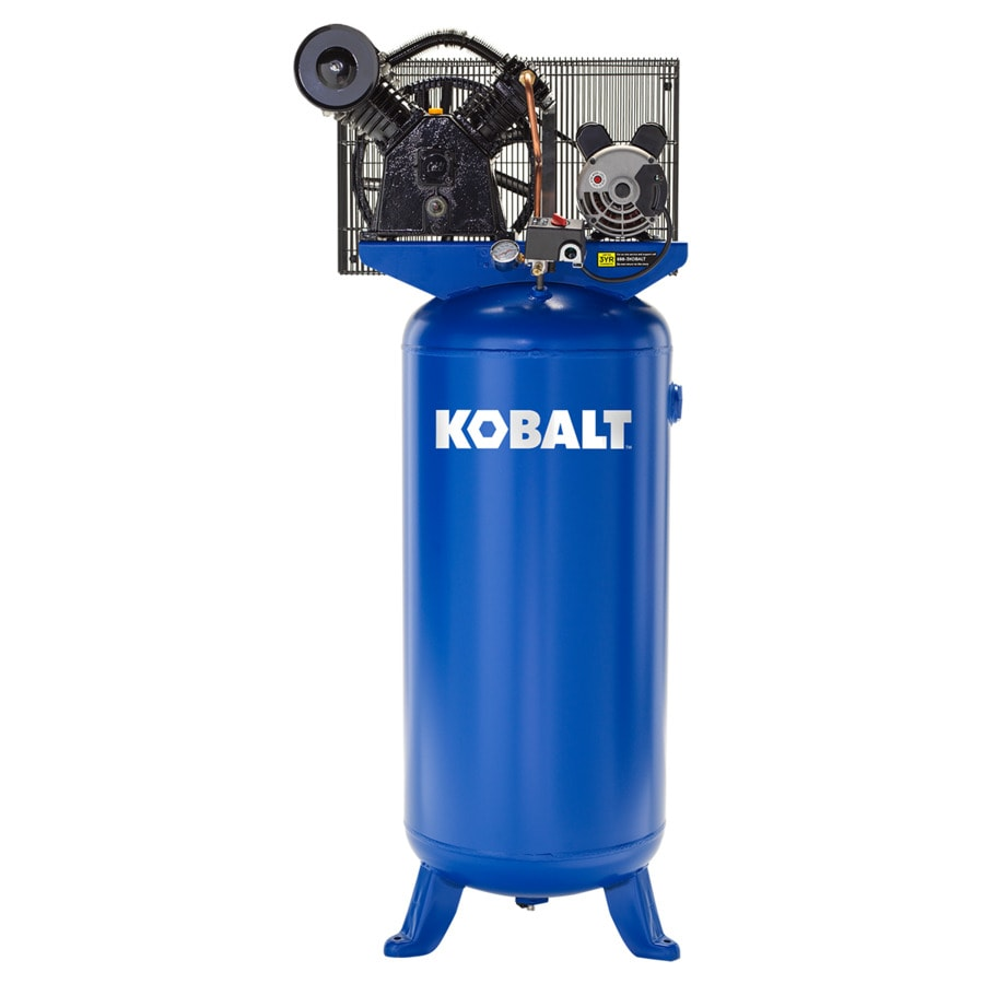 medium resolution of kobalt 60 gallon electric vertical air compressor