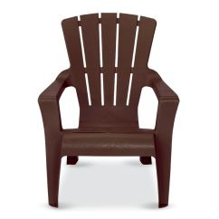 Adirondack Chairs At Lowes Intex Chair Float Us Leisure Cappuccino Resin Stackable Com