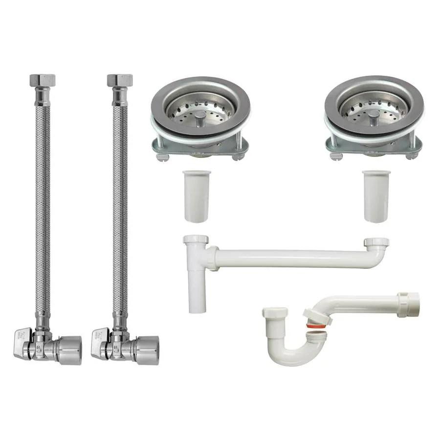 keeney kitchen sink installation kit