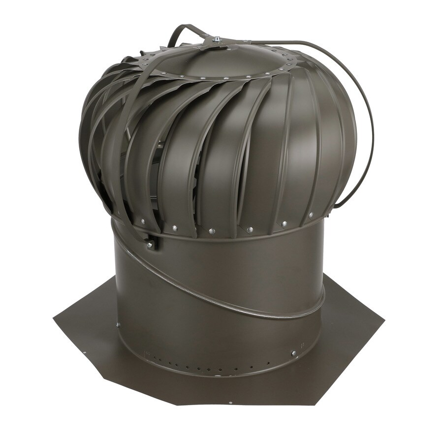 air vent 12 in aluminum externally braced roof turbine vent