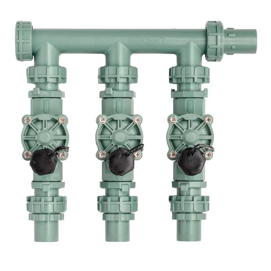 medium resolution of orbit 0 75 in plastic electric inline irrigation valve