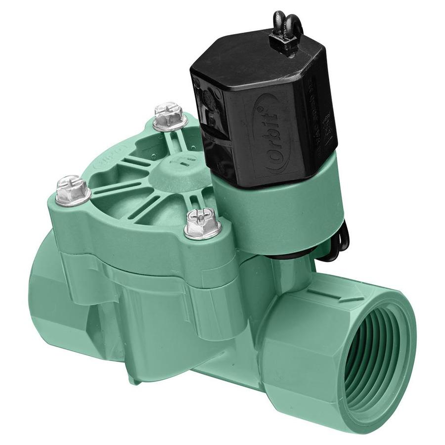 hight resolution of orbit 0 75 in plastic electric inline irrigation valve