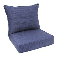 Shop allen + roth Deep Seat Patio Chair Cushion at Lowes.com