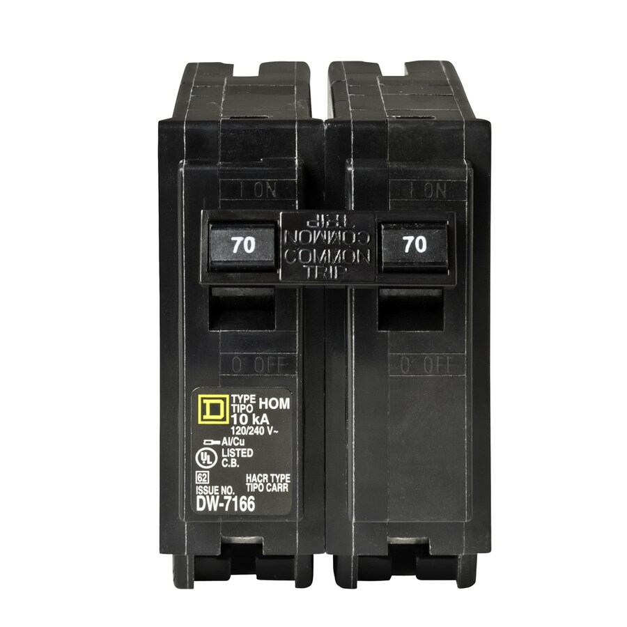 hight resolution of square d homeline 70 amp 2 pole standard trip circuit breaker at square d 200 amp box dual square d fuse box